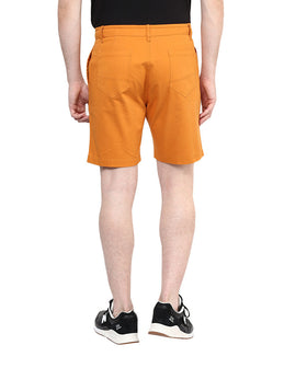 Yepme Solid Shorts - Orange