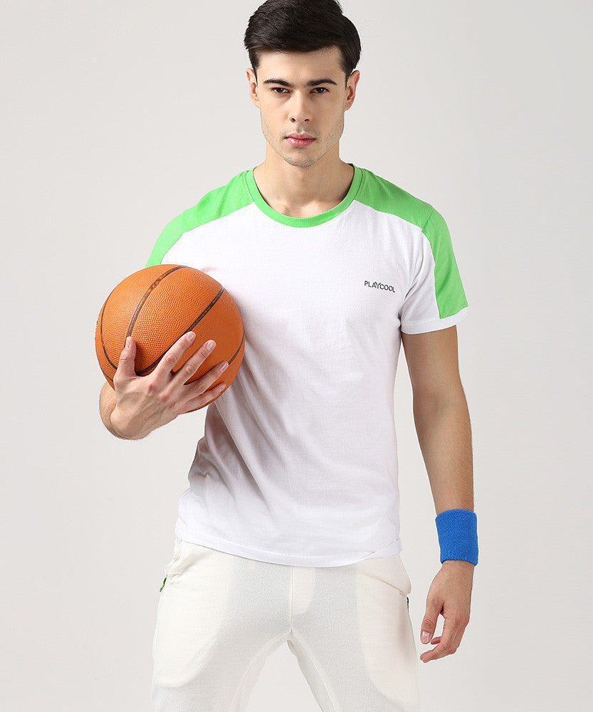 Yepme Tim High Performance Active Tee - White