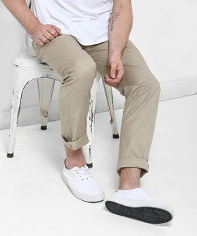 Yepme Eliott Colored Pants - Khaki