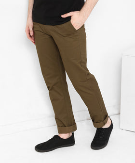 Yepme Eliott Colored Pants - Brown
