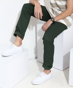 Yepme Corey Colored Pants - Green