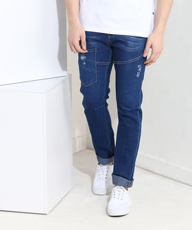 Yepme Southee Dark Wash Denim - Blue