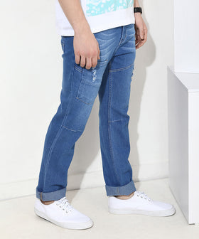 Yepme Southee Medium Wash Denim - Blue
