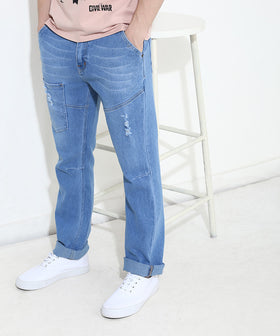 Yepme Southee Light Wash Denim - Blue