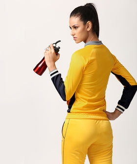 Yepme Kornelia Track Jacket - Yellow & Blue