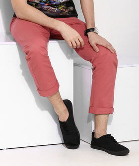 Yepme Fletcher Colored Pants - Red