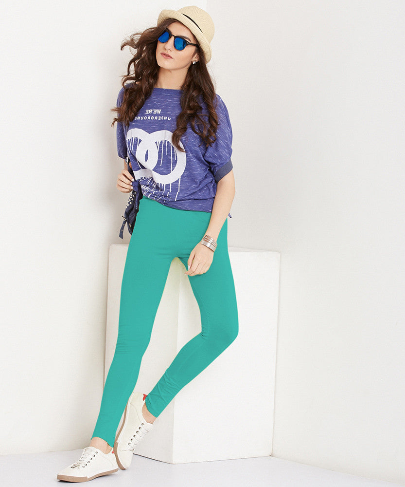 Yepme Tracey Essential Leggings - Green