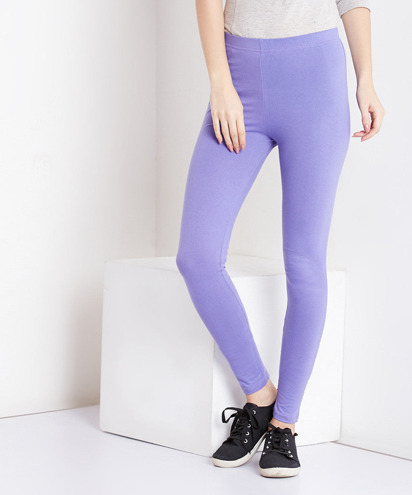 Yepme Tracey Essential Leggings - Purple