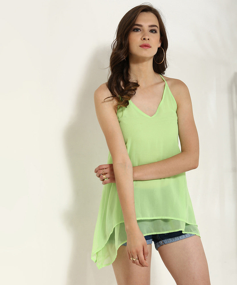 Yepme Patricia Cami Top - Green