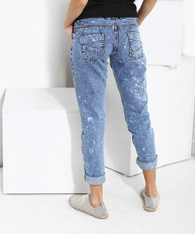 Yepme Kimberiee Light Wash Denim - Blue