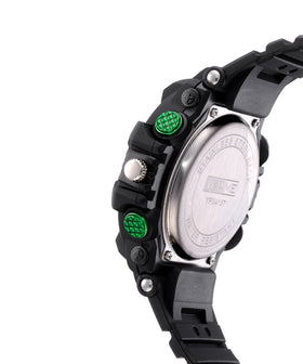 Yepme Men's Analog Digital Watch - Black/Green