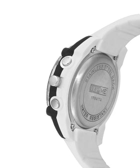 Yepme Men's Analog Digital Watch - White/Black