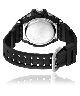 Yepme Men's Analog Digital Watch - Black/White