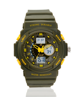 Yepme Men's Analog Digital Watch - Green