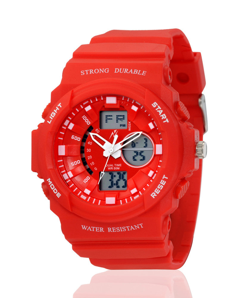 Yepme Men's Analog Digital Watch - Red
