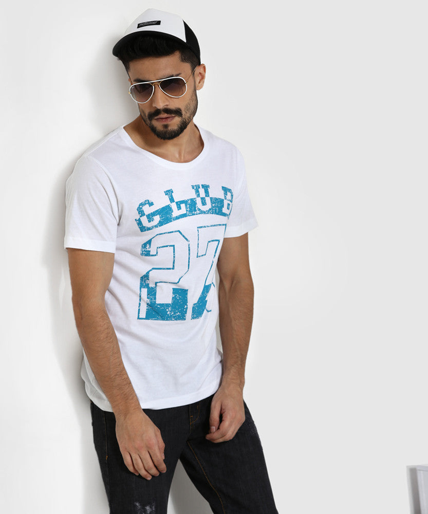 Yepme Club 27 Graphic Tee - White