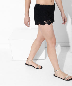Yepme Estella Shorts - Black