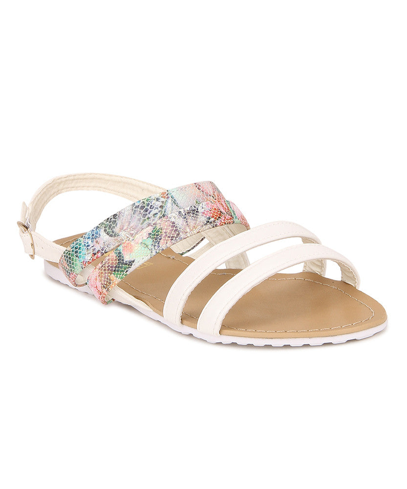 Yepme Women's Sandals - White
