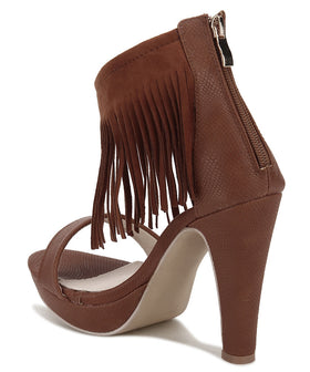 Yepme High Heel Sandals - Brown