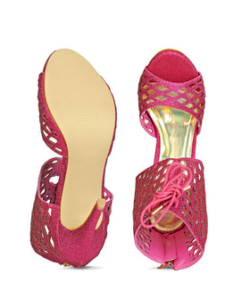 Yepme High Heel Sandals - Pink