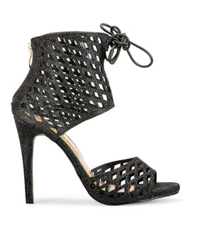 Yepme High Heel Sandals - Black
