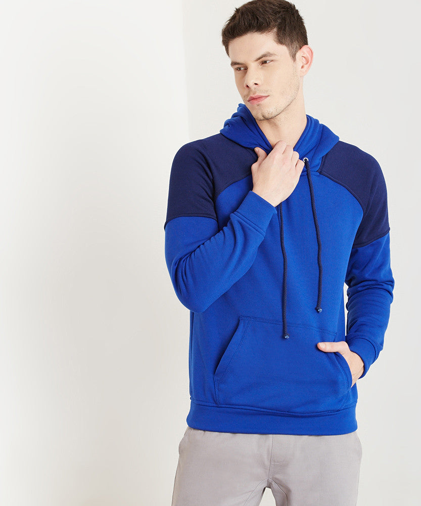 Yepme Victor Hooded Sweatshirt - Blue