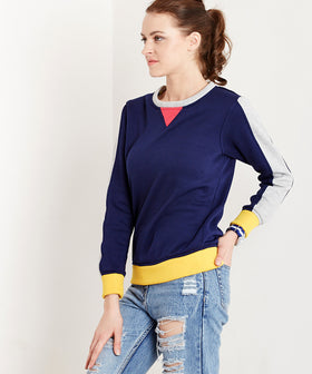 Yepme Celina Sporty Sweatshirt - Blue