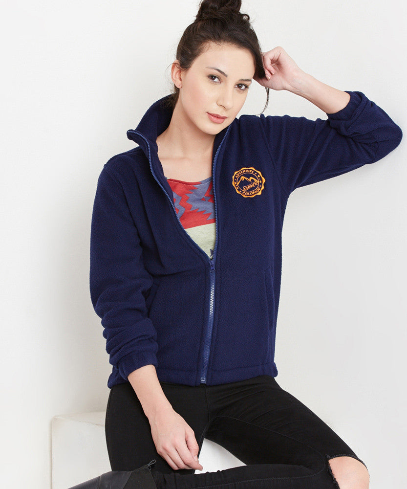 Yepme Stephey Fleece Jacket - Blue
