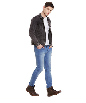 Yepme Alfred Denim Jacket - Black