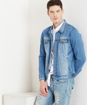 Yepme Edwin Denim Jacket - Medium Wash