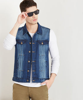 Yepme Albert Denim Jacket - Dark Wash