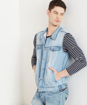 Yepme Albert Denim Jacket - Light Wash