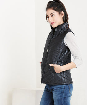 Yepme Kelly Quilted Jacket - Black