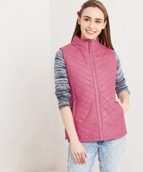 Yepme Kelly Quilted Jacket - Pink