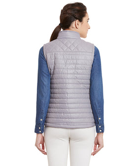 Yepme Sohie Quilted Jacket - Grey