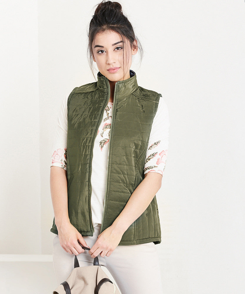 Yepme Sohie Quilted Jacket - Green