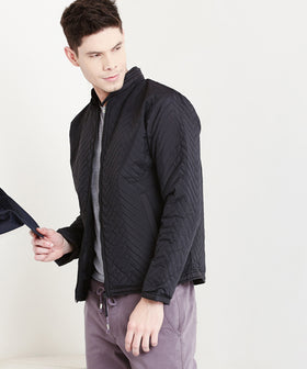 Yepme  Larry Quilted Jacket - Black
