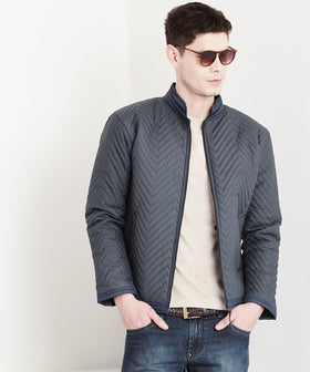 Yepme  Larry Quilted Jacket - Grey