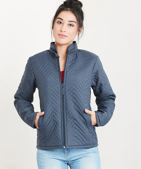 Yepme  Miley Quilted Jacket - Grey
