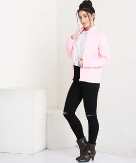 Yepme  Miley Quilted Jacket - Pink