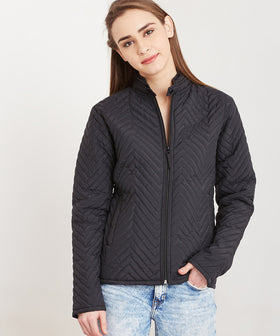 Yepme Miley Quilted Jacket - Black