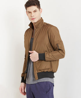 Yepme Manfred Utility Flight Bomber Jacket - Green