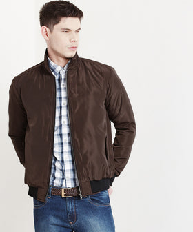 Yepme Mayson Harrington Jacket - Brown