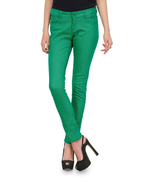 Yepme Nelly Colored Pant- Bright Green