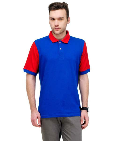 Yepme Nick Polo Tee - Royal Blue