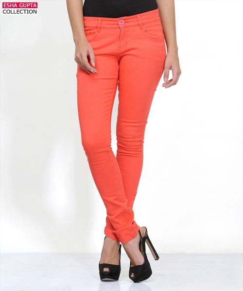 Yepme Avril Pant - Coral Red