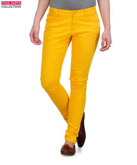 Yepme Avril Pants - Yellow