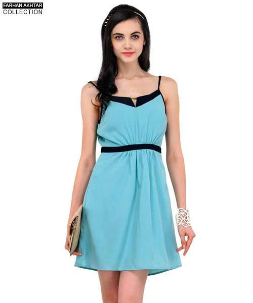 Yepme Valencia Solid Dress - Sea Green