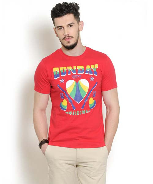 Yepme Gunday Tee - Red