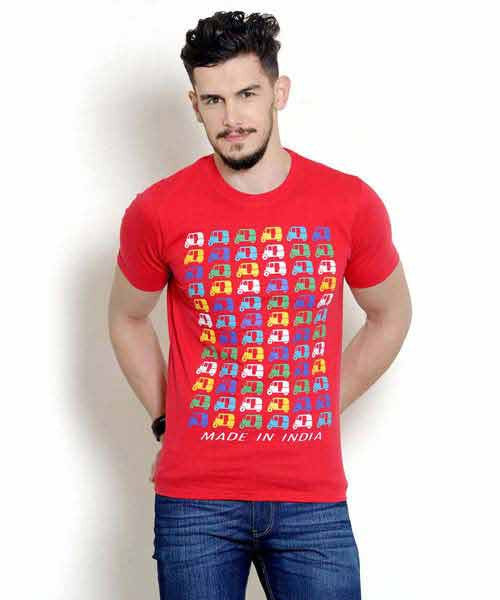 Yepme Autorickshaw Tee - Red